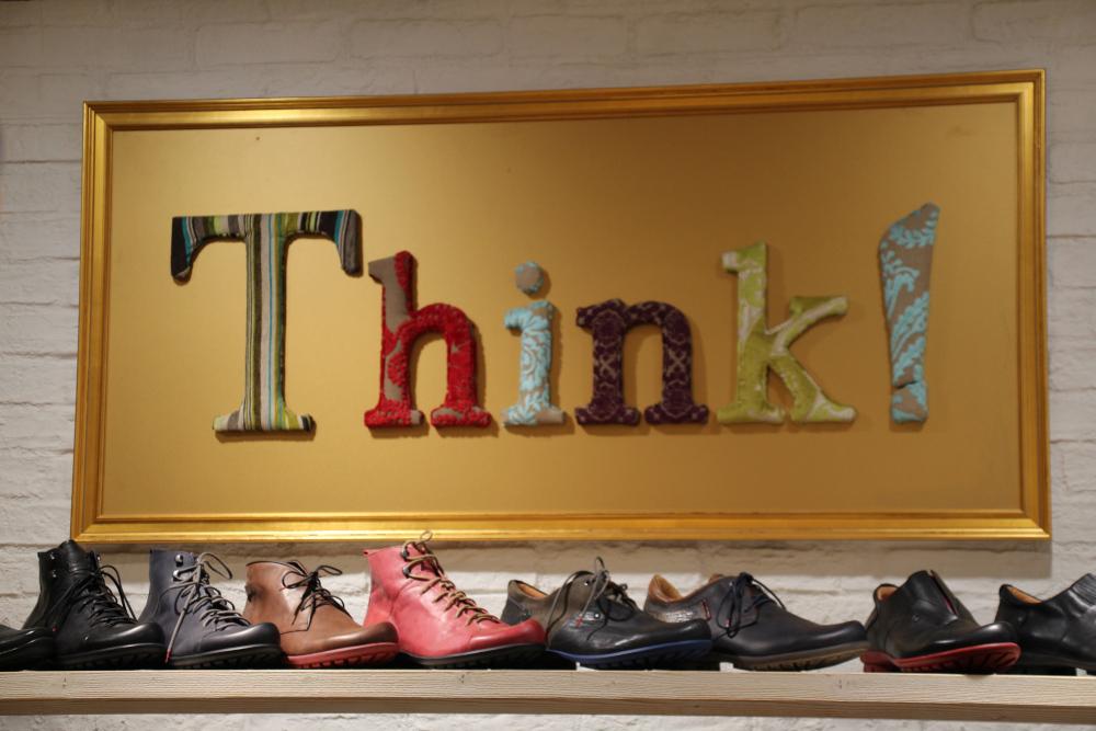 Größentabelle | Think! Store