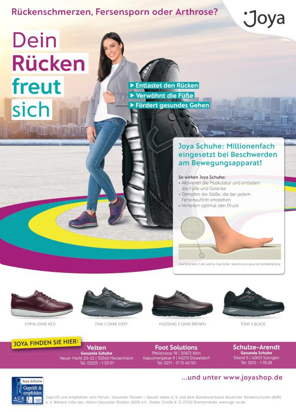 EIN STARKER RÜCKEN BEGINNT BEIM SCHUH – Gesundheitsbote NRW